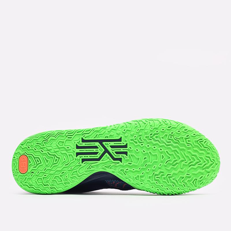 мужские синие  кроссовки nike kyrie 7 CQ9326-401 - цена, описание, фото 4