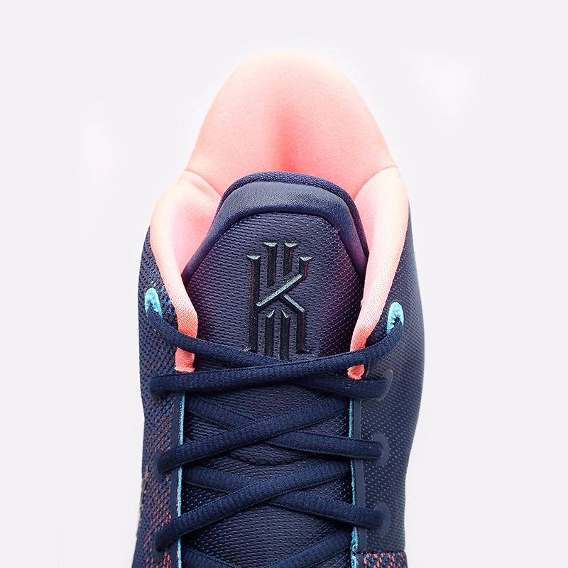 мужские синие  кроссовки nike kyrie 7 CQ9326-401 - цена, описание, фото 5