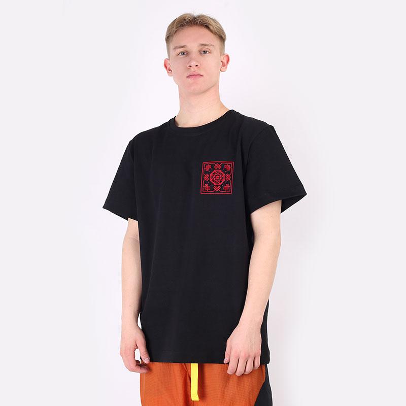мужскую черную  футболка sneakerhead clot tee Clot-blk - цена, описание, фото 1