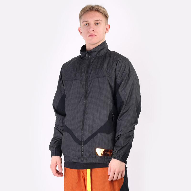 мужскую черную  куртку jordan 23 engineered track jacket CV2865-010 - цена, описание, фото 1