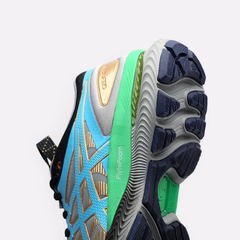 женские серые  кроссовки asics fn1-s gel-nimbus 22 1202A129-020 - цена, описание, фото 6