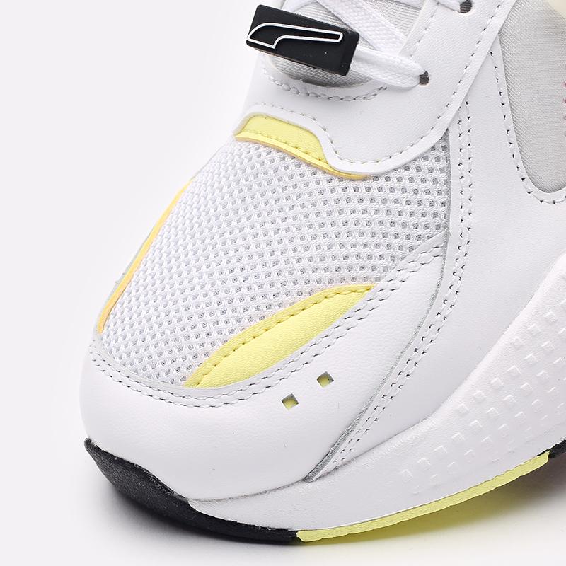 мужские белые  кроссовки puma rs-x decor8 38057301 - цена, описание, фото 7