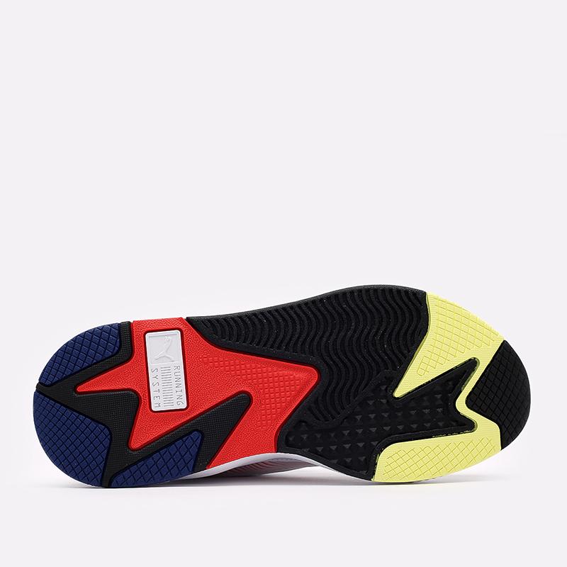 мужские белые  кроссовки puma rs-x decor8 38057301 - цена, описание, фото 4