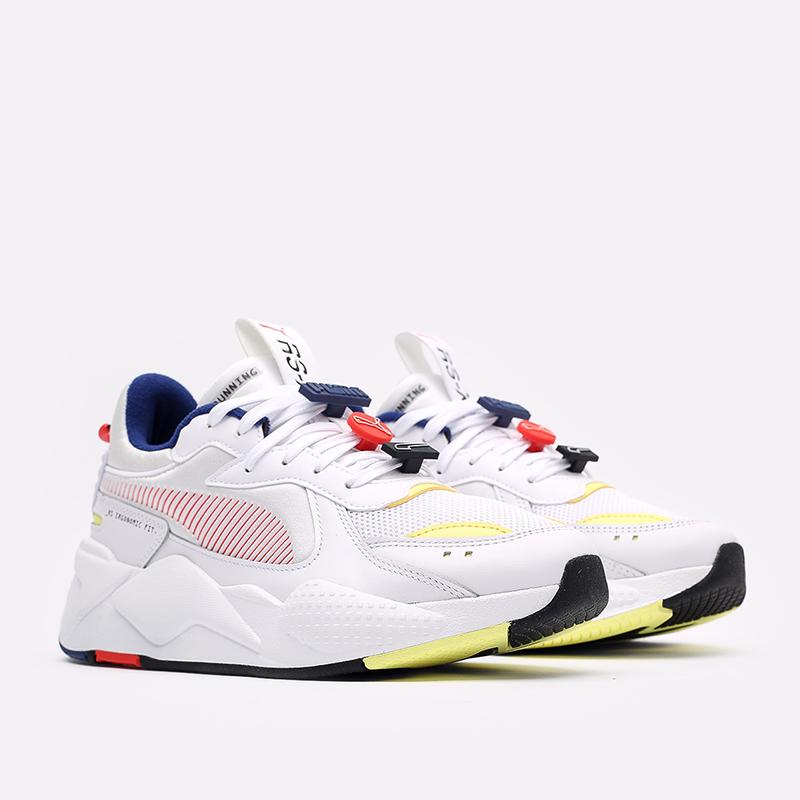 мужские белые  кроссовки puma rs-x decor8 38057301 - цена, описание, фото 2