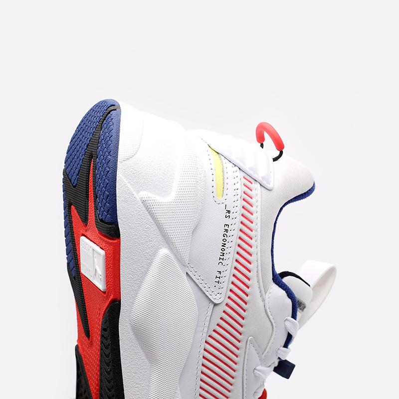 мужские белые  кроссовки puma rs-x decor8 38057301 - цена, описание, фото 5