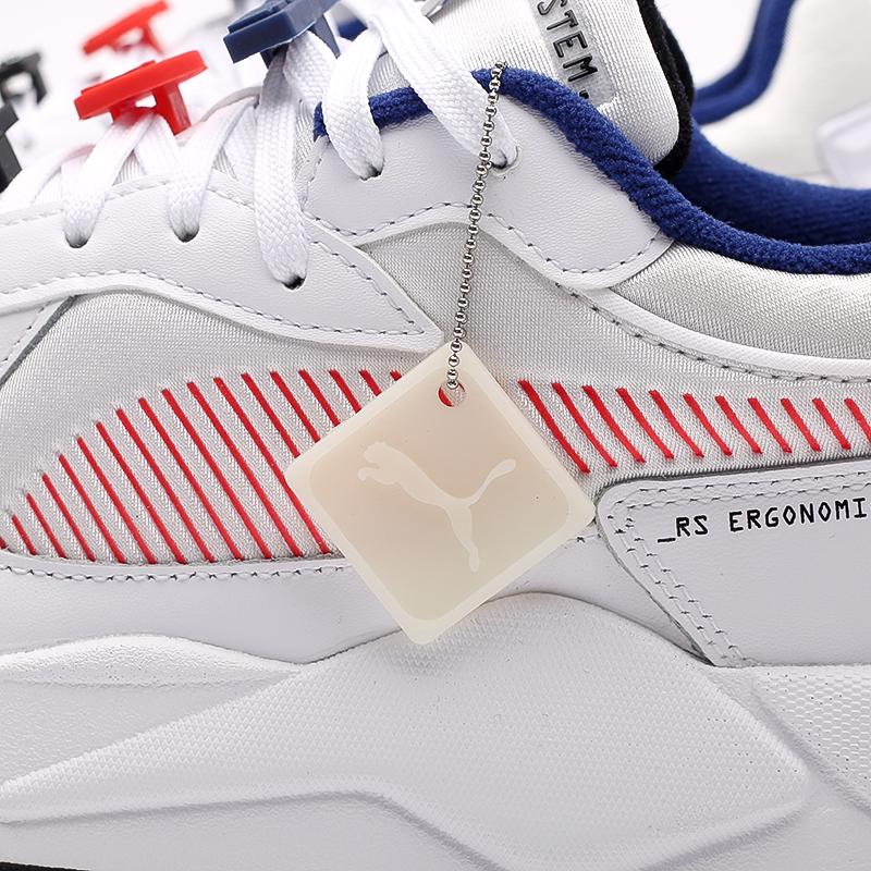 мужские белые  кроссовки puma rs-x decor8 38057301 - цена, описание, фото 8