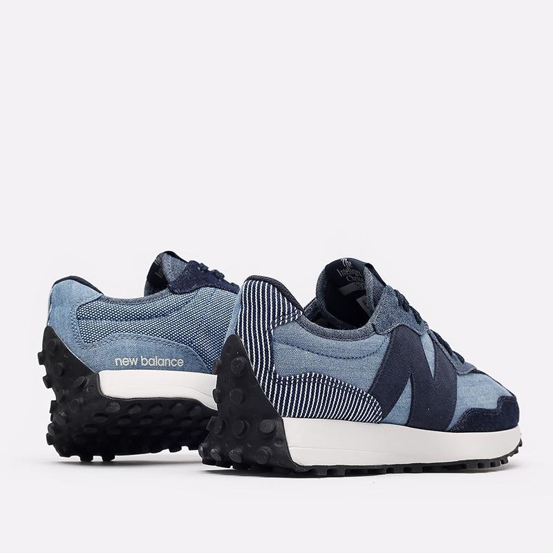 мужские синие  кроссовки new balance 327 MS327PA/D - цена, описание, фото 3