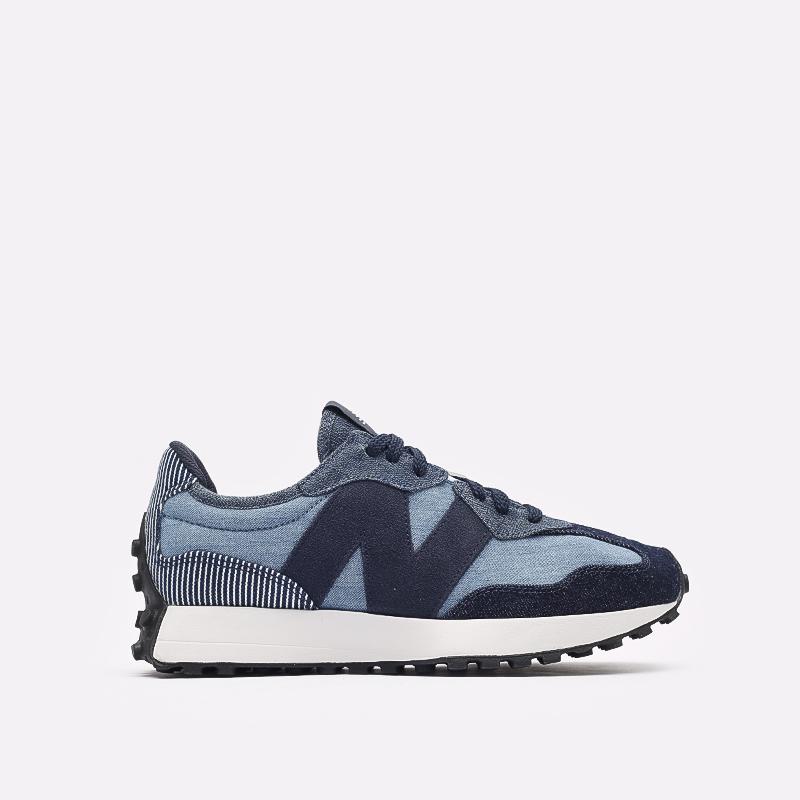 мужские синие  кроссовки new balance 327 MS327PA/D - цена, описание, фото 1