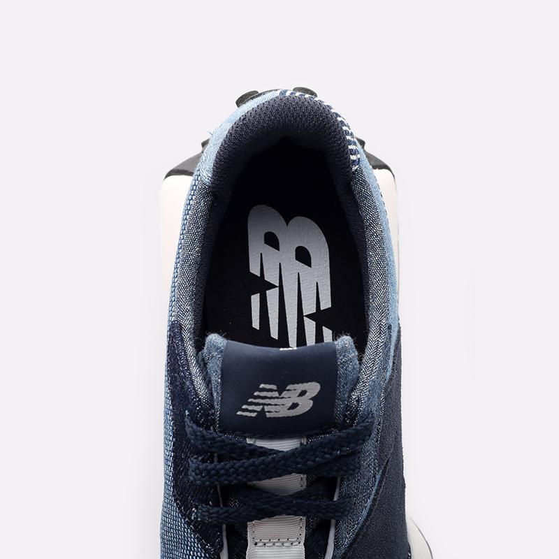 мужские синие  кроссовки new balance 327 MS327PA/D - цена, описание, фото 5