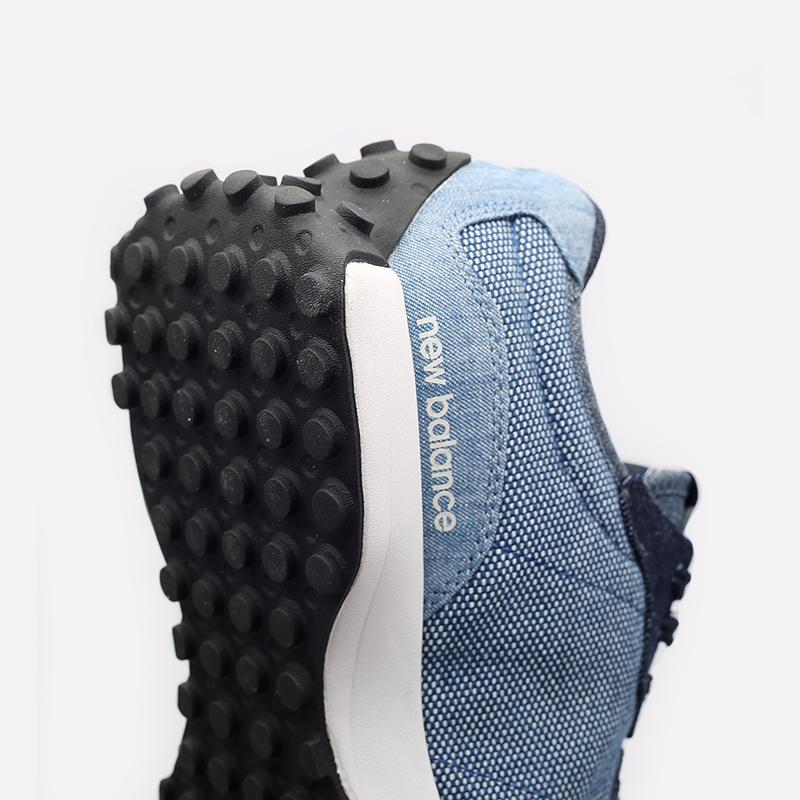 мужские синие  кроссовки new balance 327 MS327PA/D - цена, описание, фото 6