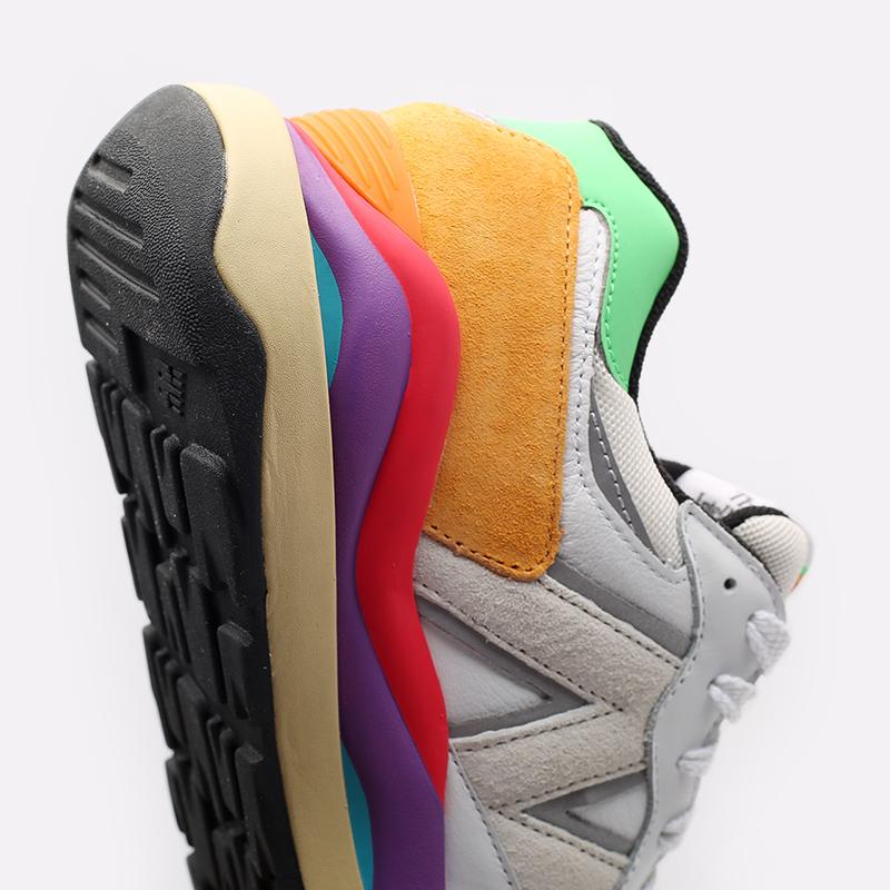 мужские белые  кроссовки new balance 5740 think colorfully M5740LA/D - цена, описание, фото 4