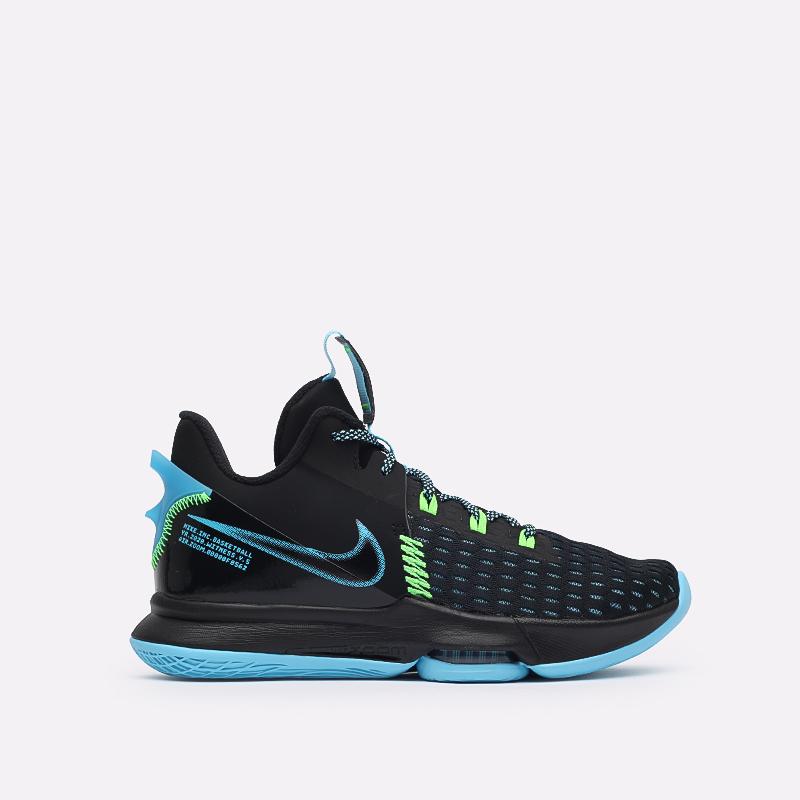 мужские чёрные  кроссовки nike lebron witness v CQ9380-004 - цена, описание, фото 1
