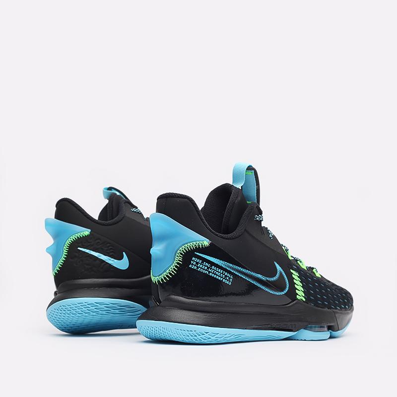 мужские чёрные  кроссовки nike lebron witness v CQ9380-004 - цена, описание, фото 3