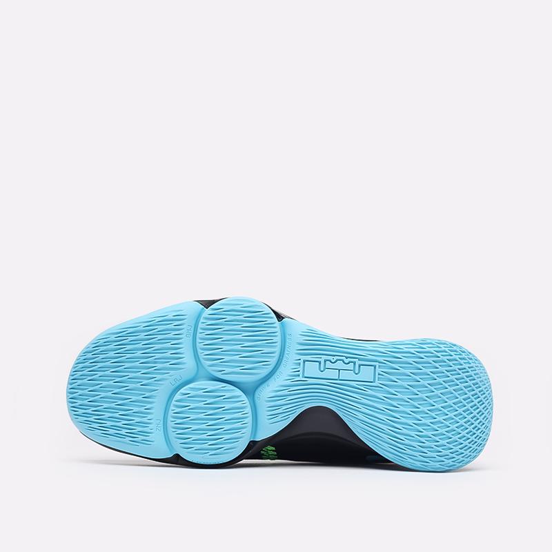 мужские чёрные  кроссовки nike lebron witness v CQ9380-004 - цена, описание, фото 4