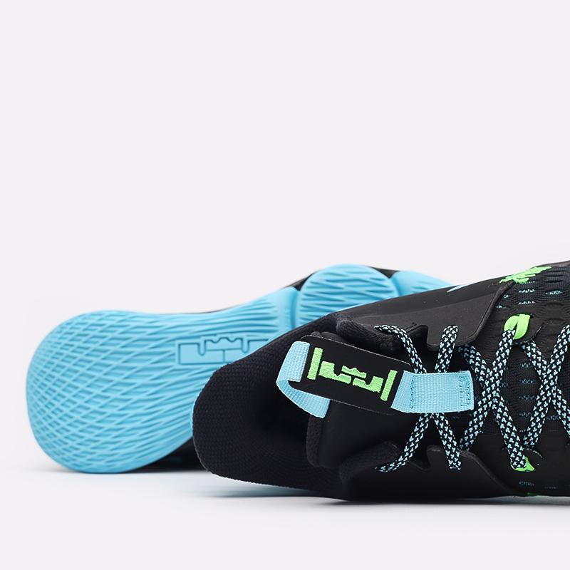 мужские чёрные  кроссовки nike lebron witness v CQ9380-004 - цена, описание, фото 7