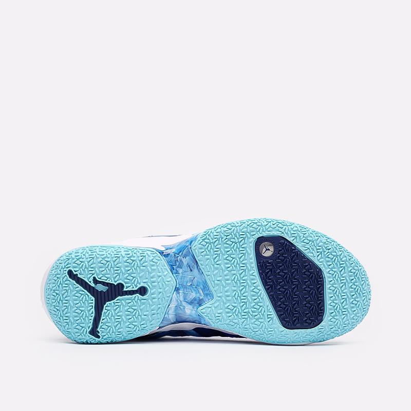синие  кроссовки jordan why not zero.4 DM1289-401 - цена, описание, фото 4