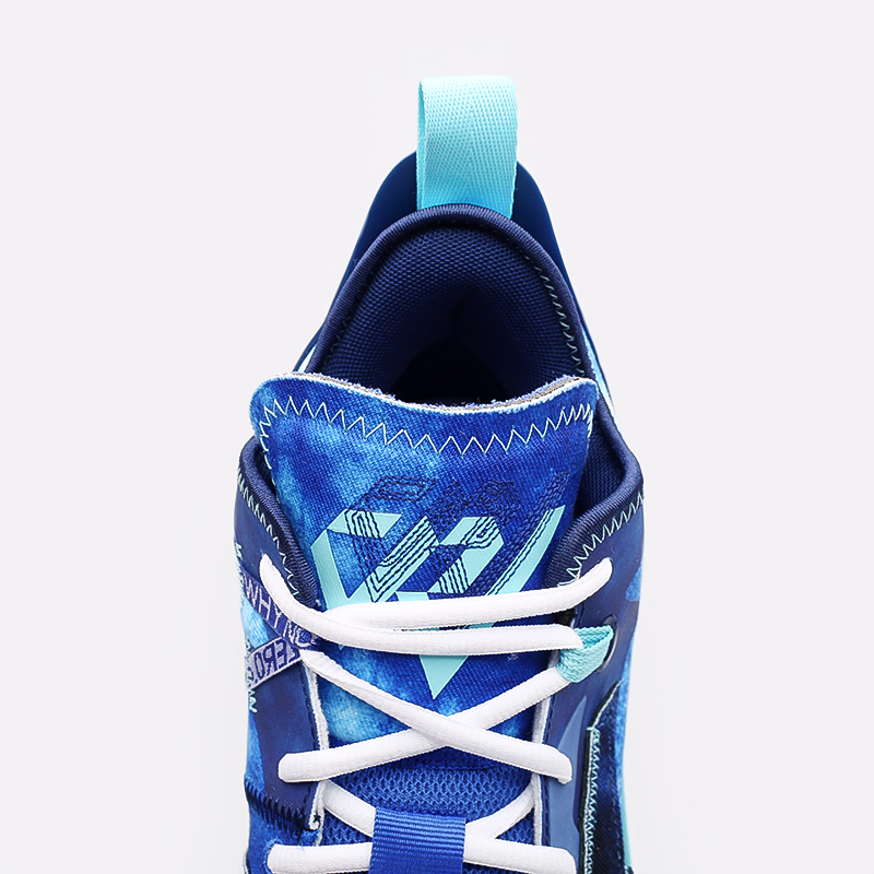 синие  кроссовки jordan why not zero.4 DM1289-401 - цена, описание, фото 6