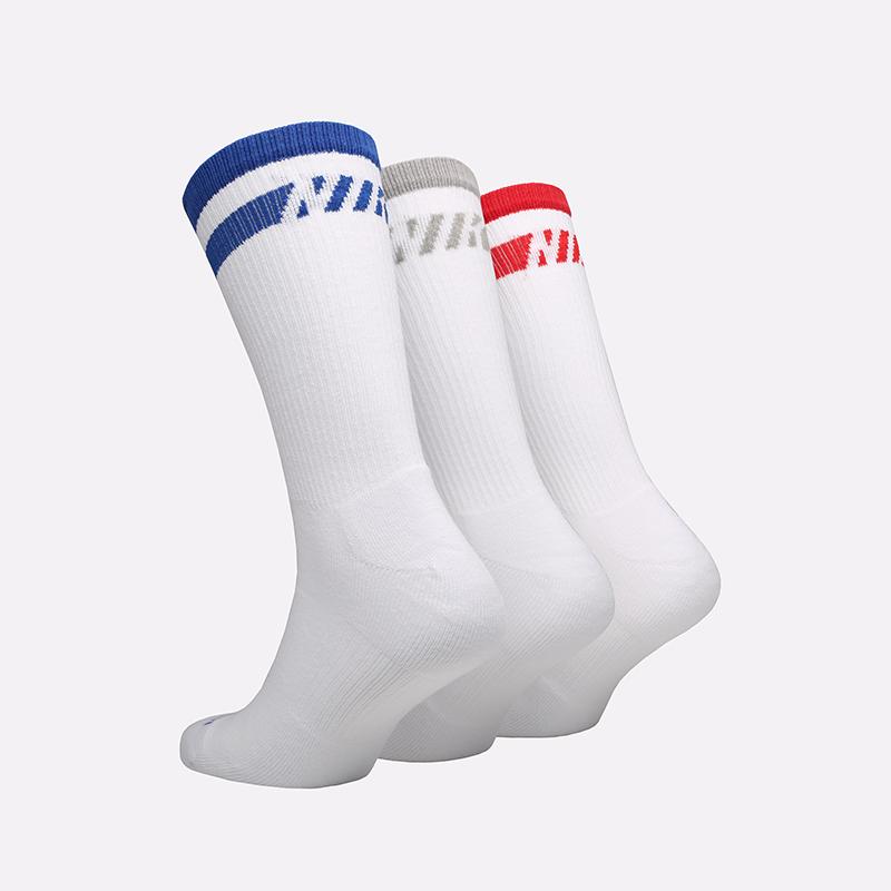 мужские белые  носки nike everyday plus CZ0502-903 - цена, описание, фото 2