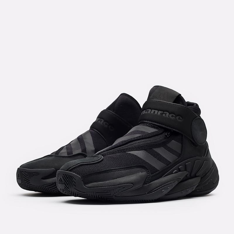 чёрные  кроссовки adidas pw 0 to 60 x pharrell williams GX2486 - цена, описание, фото 2