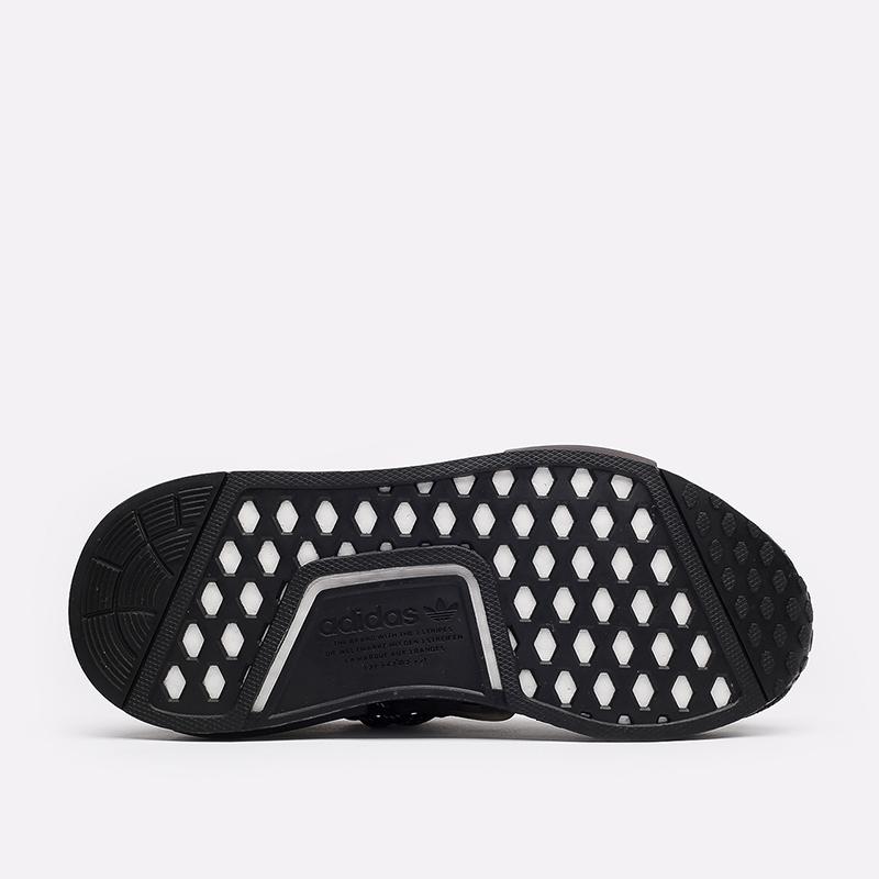 мужские чёрные  кроссовки adidas hu nmd x pharrell williams GX2487 - цена, описание, фото 4