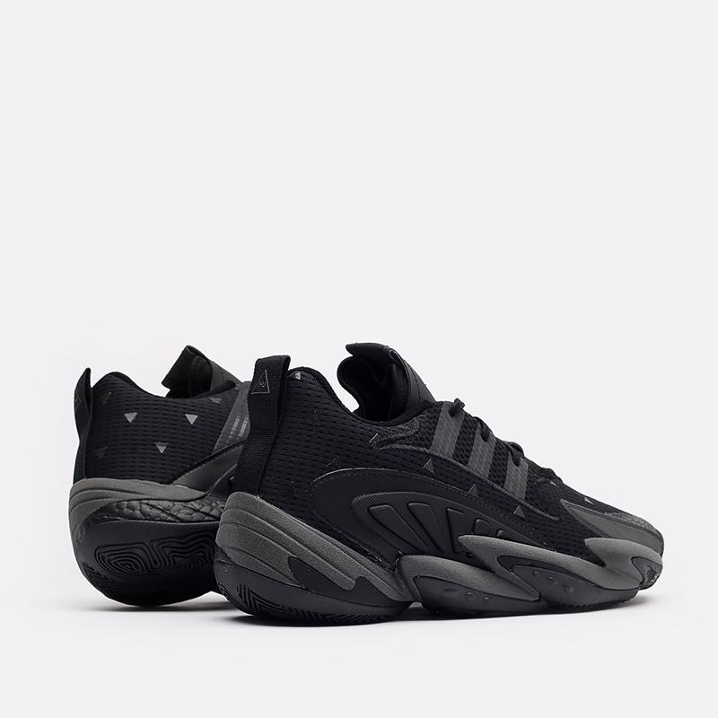 мужские чёрные  кроссовки adidas crazy byw 2.0 x pharrell williams GX0043 - цена, описание, фото 3