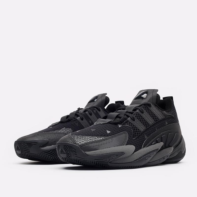 мужские чёрные  кроссовки adidas crazy byw 2.0 x pharrell williams GX0043 - цена, описание, фото 2