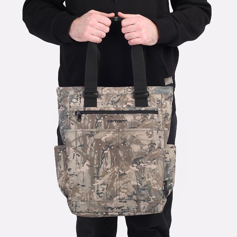 зеленая сумка Carhartt WIP Payton Kit Bag 10L I028685 - цена, описание, фото 1