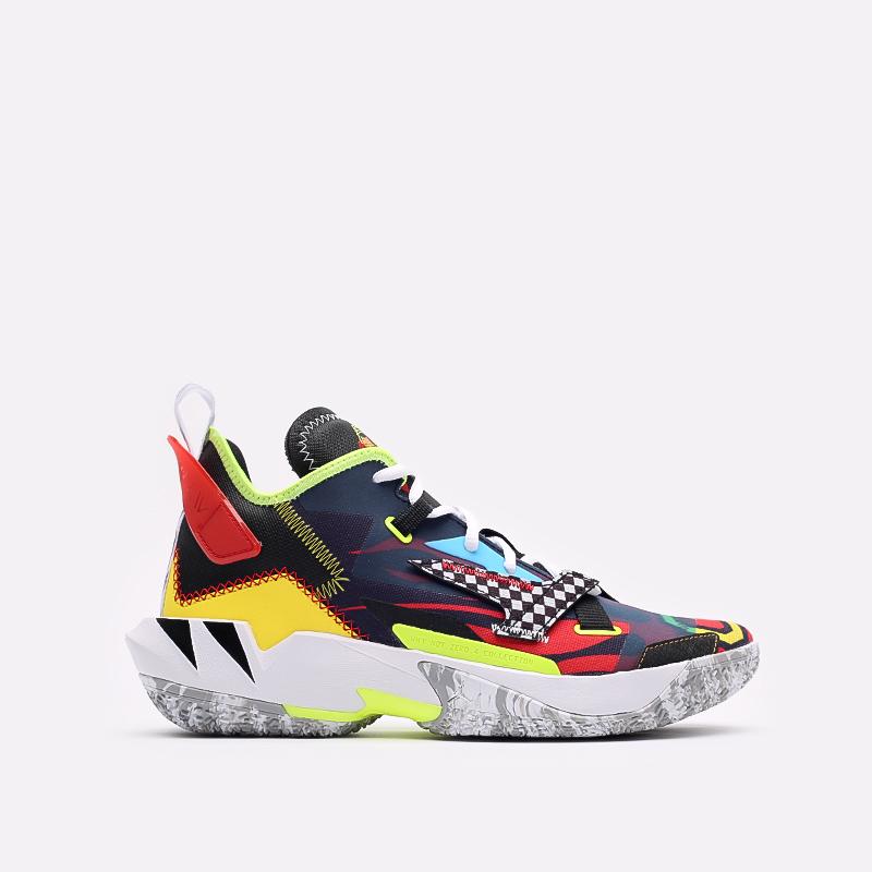 мужские разноцветные  кроссовки jordan why not zero.4 DD4889-006 - цена, описание, фото 1