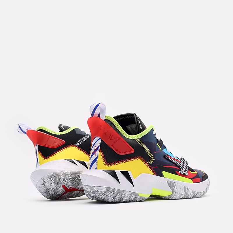 мужские разноцветные  кроссовки jordan why not zero.4 DD4889-006 - цена, описание, фото 3
