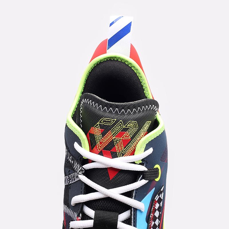 мужские разноцветные  кроссовки jordan why not zero.4 DD4889-006 - цена, описание, фото 6