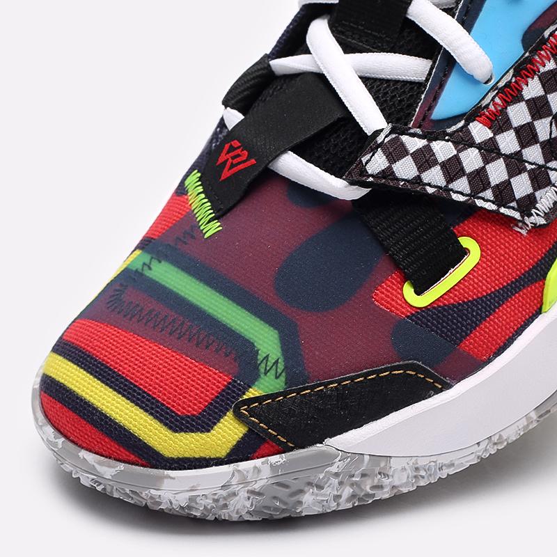 мужские разноцветные  кроссовки jordan why not zero.4 DD4889-006 - цена, описание, фото 7