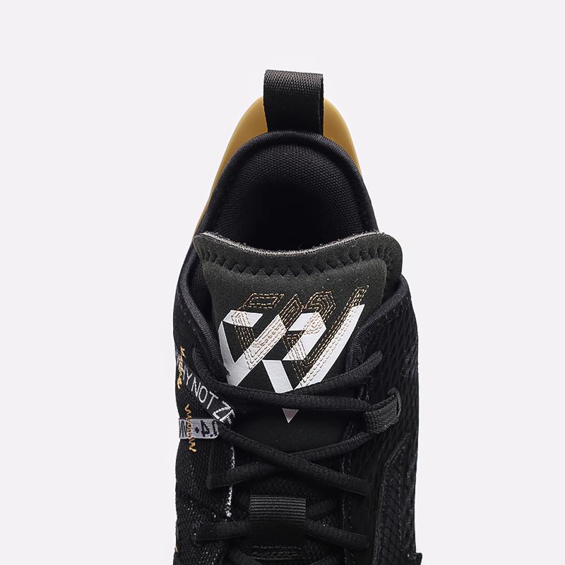 мужские чёрные  кроссовки jordan why not zero.4 CQ4230-001 - цена, описание, фото 6