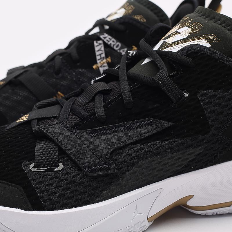 мужские чёрные  кроссовки jordan why not zero.4 CQ4230-001 - цена, описание, фото 5