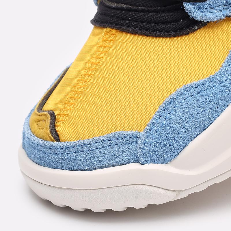 женские жёлтые, синие, чёрные  кроссовки jordan wmns ma2 CW5992-700 - цена, описание, фото 6