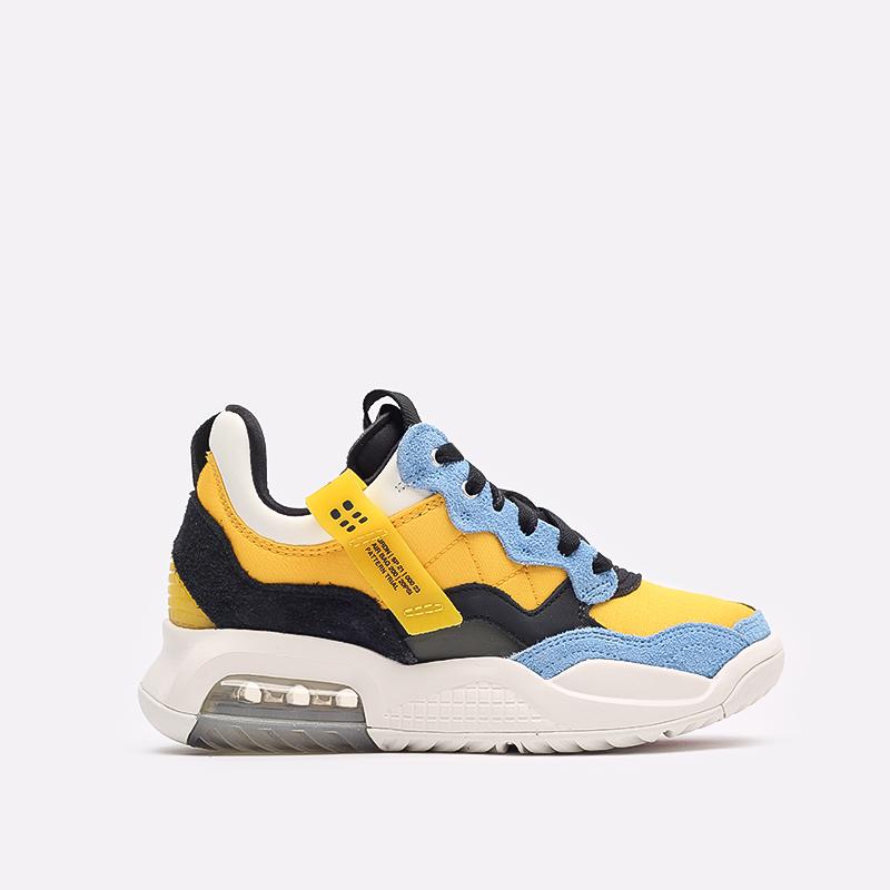 женские жёлтые, синие, чёрные  кроссовки jordan wmns ma2 CW5992-700 - цена, описание, фото 1
