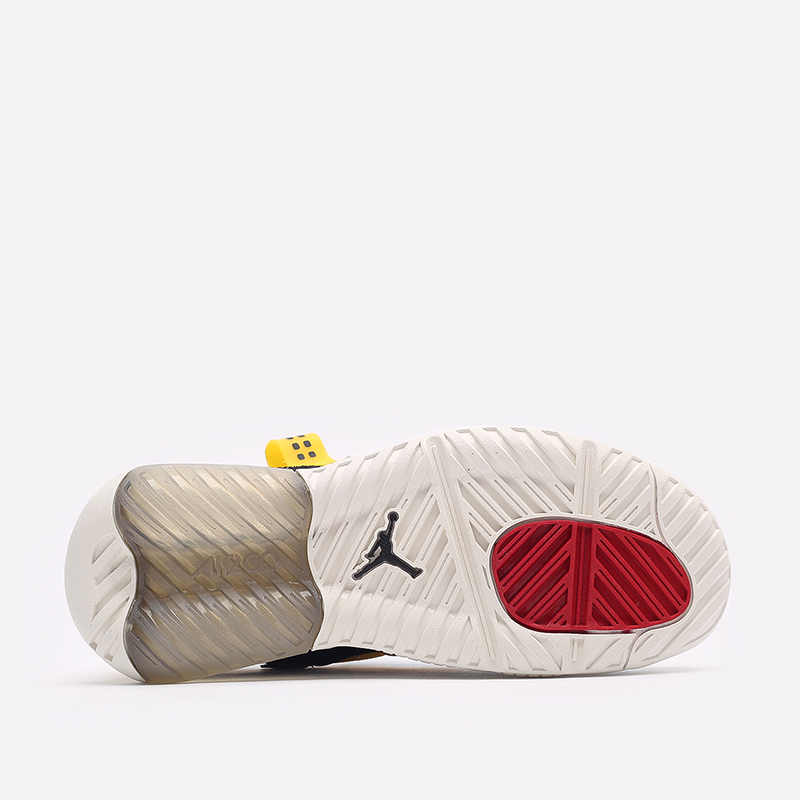 женские жёлтые, синие, чёрные  кроссовки jordan wmns ma2 CW5992-700 - цена, описание, фото 4