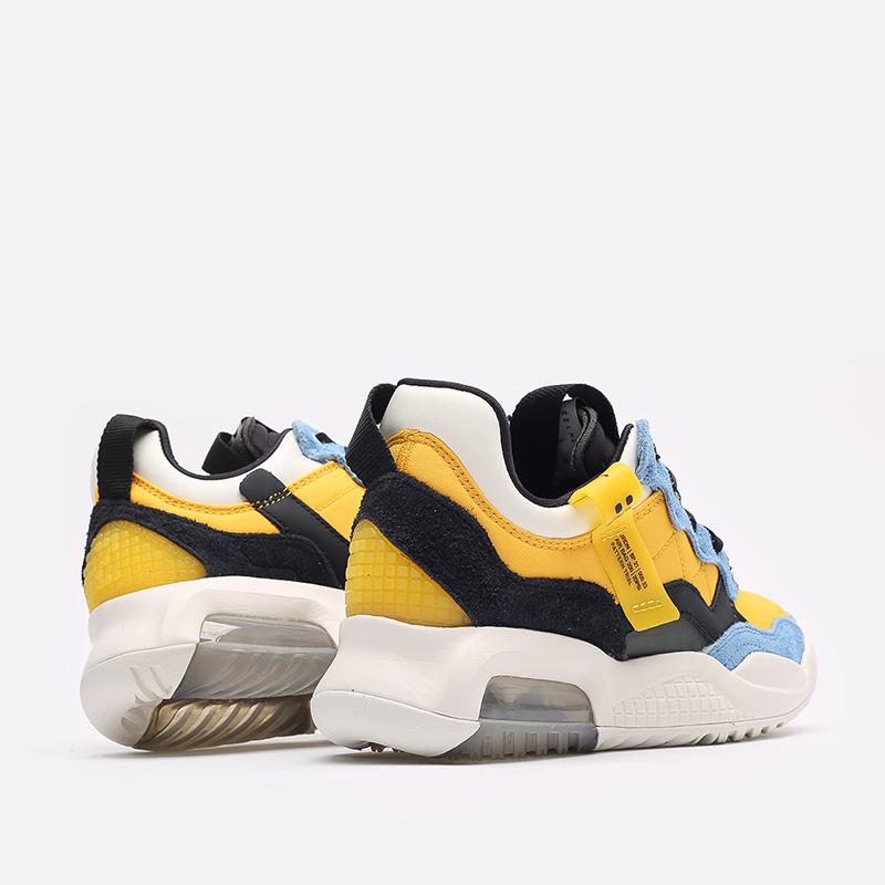 женские жёлтые, синие, чёрные  кроссовки jordan wmns ma2 CW5992-700 - цена, описание, фото 3