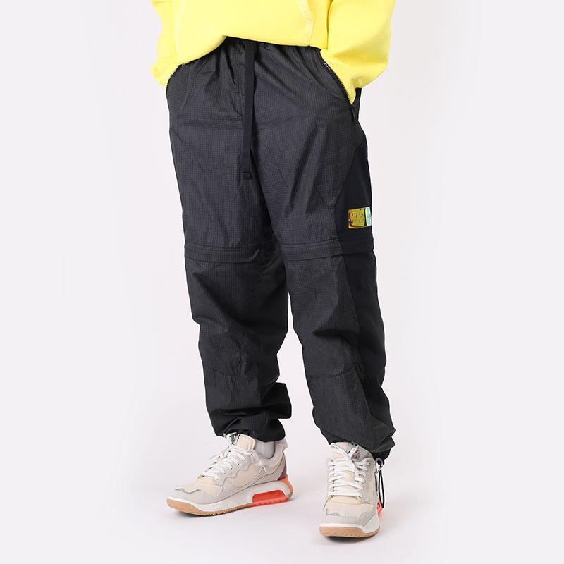 мужские черные  брюки jordan 23 engineered convertible tracksuit bottoms CV2788-010 - цена, описание, фото 1