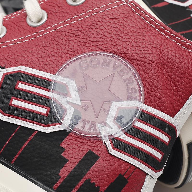 красные  кеды converse chuck 70 hi x chinatown market x nba 171243 - цена, описание, фото 5