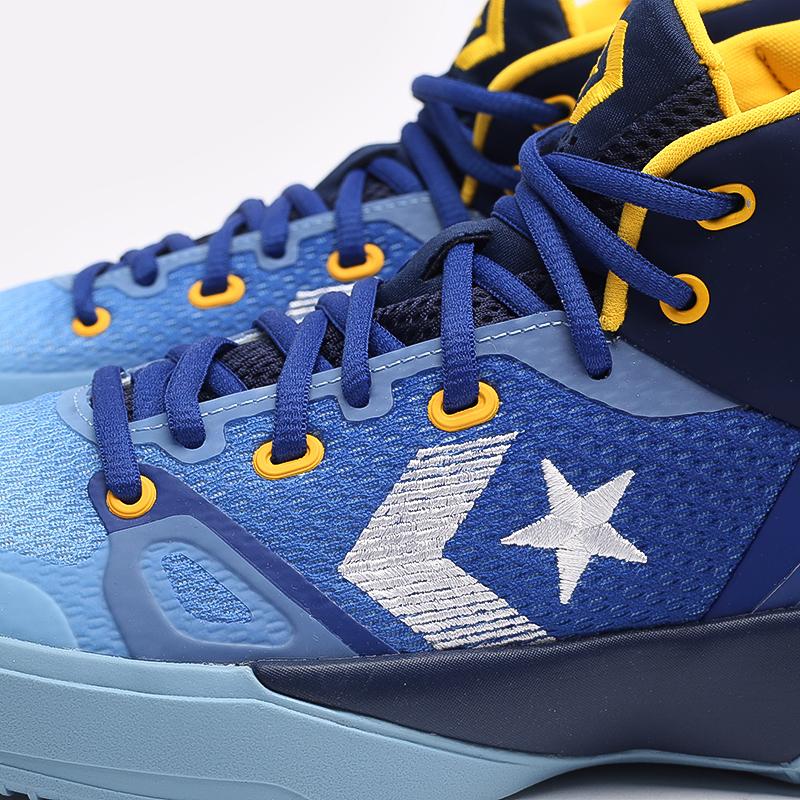 синие  кеды converse g4 hi 170296 - цена, описание, фото 7