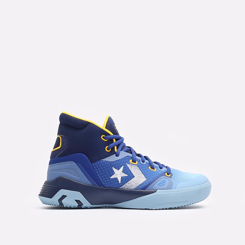 синие  кеды converse g4 hi 170296 - цена, описание, фото 1