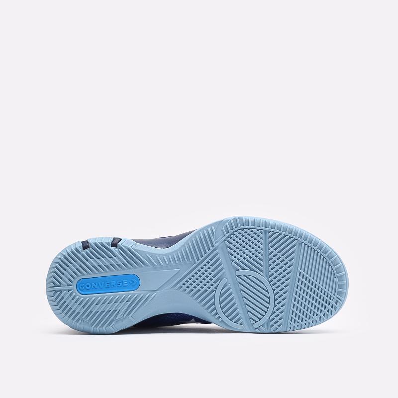 синие  кеды converse g4 hi 170296 - цена, описание, фото 4