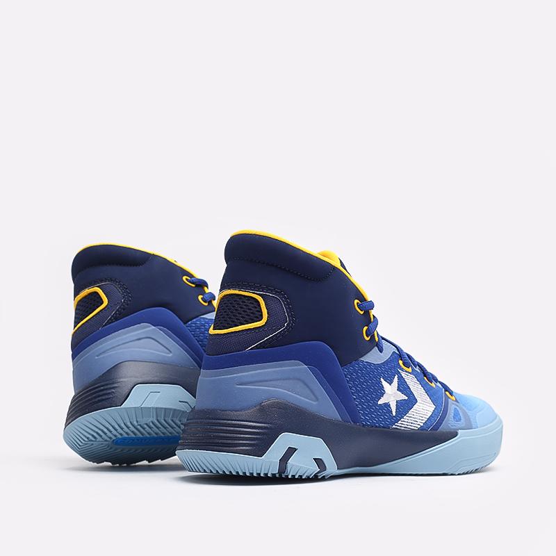 синие  кеды converse g4 hi 170296 - цена, описание, фото 3