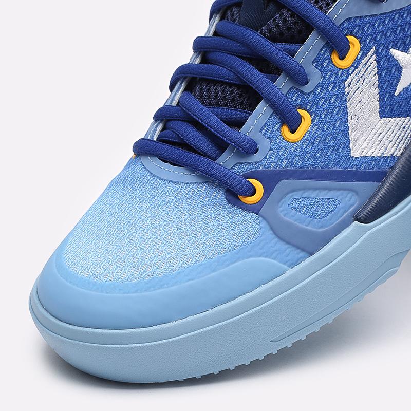синие  кеды converse g4 hi 170296 - цена, описание, фото 6