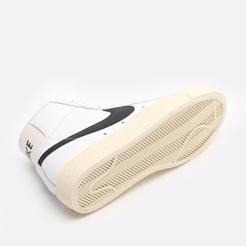 женские белые  кроссовки nike wmns blazer mid '77 DD6621-100 - цена, описание, фото 4