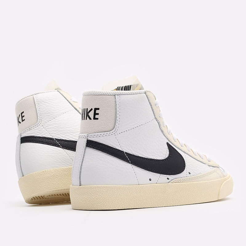 женские белые  кроссовки nike wmns blazer mid '77 DD6621-100 - цена, описание, фото 3