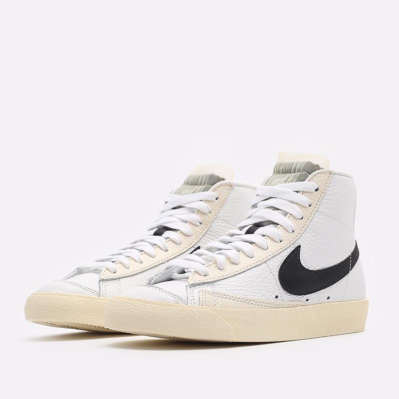 женские белые  кроссовки nike wmns blazer mid '77 DD6621-100 - цена, описание, фото 2