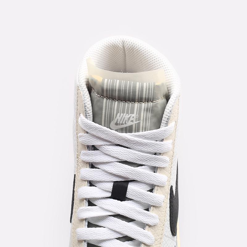 женские белые  кроссовки nike wmns blazer mid '77 DD6621-100 - цена, описание, фото 6