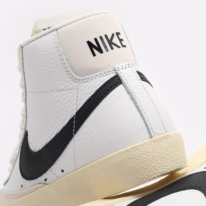 женские белые  кроссовки nike wmns blazer mid '77 DD6621-100 - цена, описание, фото 7