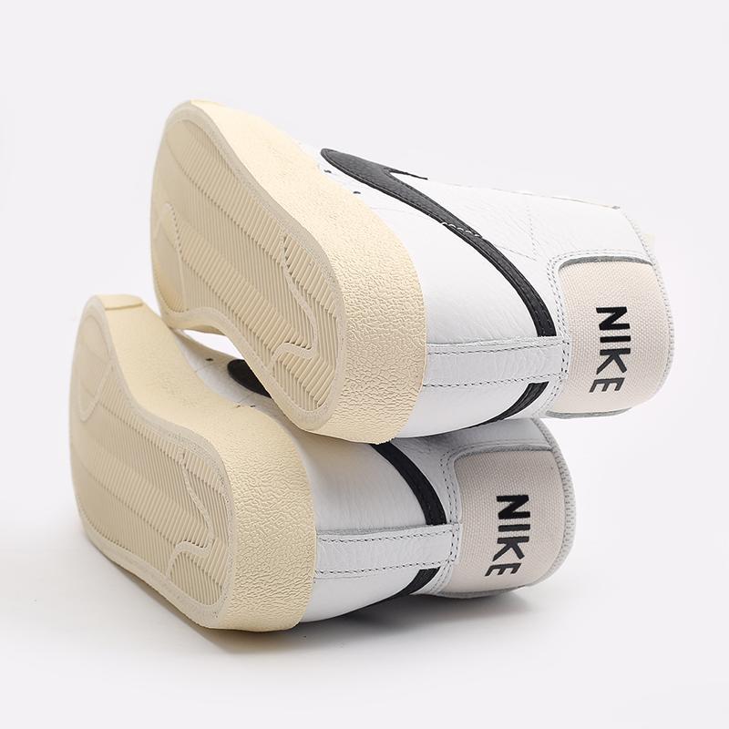 женские белые  кроссовки nike wmns blazer mid '77 DD6621-100 - цена, описание, фото 5